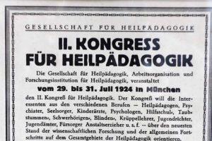 Heilpädagogische Tagungen und Kongresse
