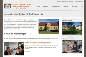 Relaunch der Archiv-Website