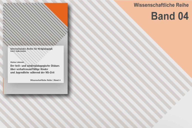 Wissenschaftliche Reihe | Band 4
