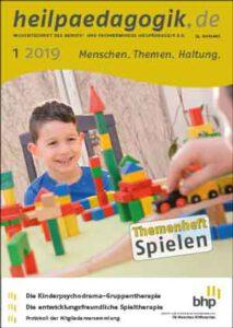 Coverbild der heilpaedagogik.de | Ausgabe 2019-01