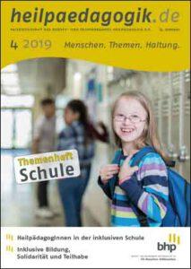 Coverbild der heilpaedagogik.de | Ausgabe 2019-04